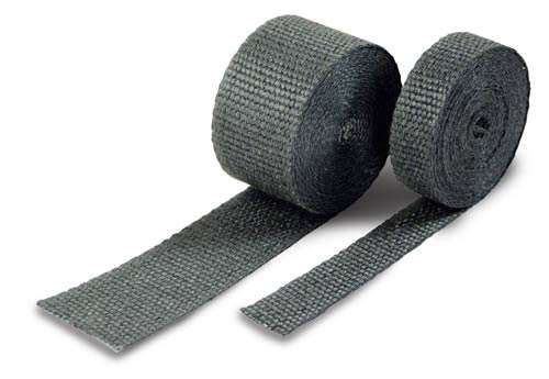 1 Inch Exhaust Wrap 50 Black